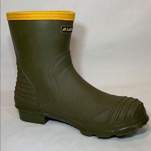 "LaCrosse Shoes - LaCrosse Burly Air Grip 9"" Green Rubber Boots 10"